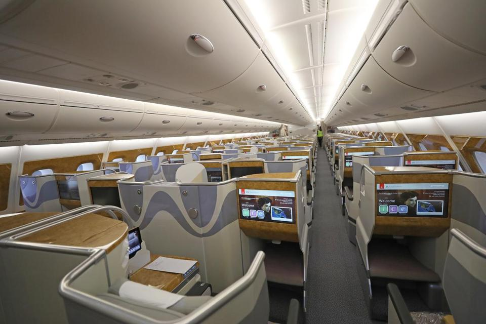Largest Airplane Luxury : A look at the world s biggest passenger plane boston